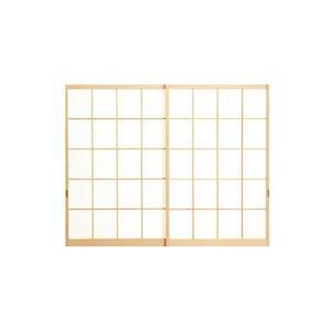 規格障子/肘掛け(H1364)/2本引違セット|woodystoreak