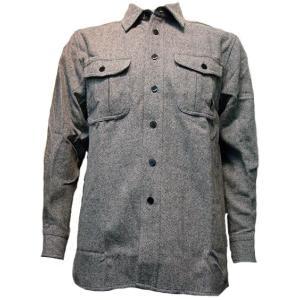 特価 登山 アウトドア ウール シャツ 三季用 ボタンの大きな 2000番|woodytail