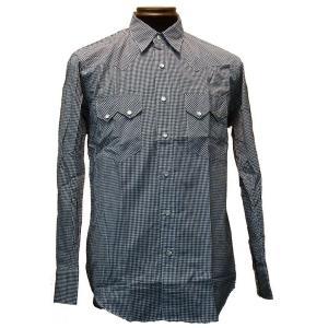特価 オリジナル ウエスタン シャツ ネイビー|woodytail