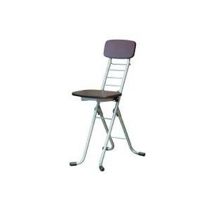 高さ調節 昇降 低姿勢 立ち仕事 中腰 作業 椅子 折りたたみ ダークブラウン/シルバー 日本製 完成品  低い 低い椅子 折り畳み  低い 低い椅子 チェア イス いす woooods