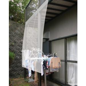 ビニールシート 庭 ベランダ バルコニー UVカット 紫外線 風よけ 保温 断熱 透明タイプ 180×180 ( シェード 日よけ 日除け 雨除け 雨よけ ガーデン テラス 軒