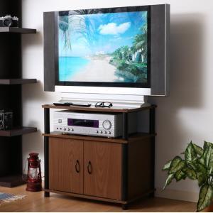 テレビ台 おしゃれ 安い 北欧 ローボード テレビボード 収納 ハイタイプ 高い 60 テレビラック 薄型 小型 小さい 幅60 ブラウン ブラック TVボード woooods