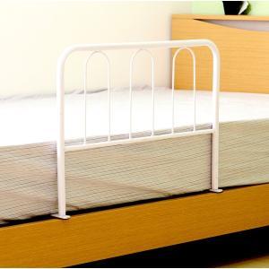 ベッドガード ハイタイプ ホワイト 白 ( ベッド シングル 寝具 快眠 熟睡 収納 子供部屋 )|woooods