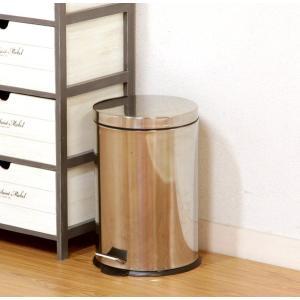ゴミ箱 ごみ箱 ダストボックス キッチン リビング おしゃれ カフェ スリム ペダル ステンレス 20L 20 20リットル 蓋付き 20l ふた付き 蓋付きゴミ箱 蓋 つき|woooods