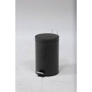 ゴミ箱 ごみ箱 ダストボックス キッチン リビング おしゃれ カフェ スリム ペダル 20L ブラック 黒 20 20リットル 蓋付き 20l ふた付き 蓋付きゴミ箱 蓋 つき|woooods