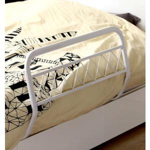 ベッドガード ホワイト 白 ハイタイプ 安い ロング 布団 おしゃれ 転落防止 子供 介護|woooods