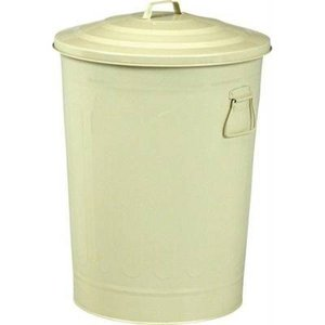 ゴミ箱 ごみ箱 ダストボックス キッチン リビング おしゃれ ふた付き 蓋付きゴミ箱 蓋 つき 蓋付き オフィス トイレ 49L 45リットル 45l 45 アイボリー|woooods