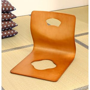 高齢者 座椅子 ブラウン 茶色 ( 低反発 座いす チェア チェアー 1人掛け ソファー ソファ 座イス 低い 低い椅子 リクライニング )|woooods