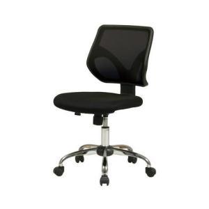 オフィスチェア 事務椅子 デスクチェア キャスター付き椅子 キャスター 椅子 チェア ブラック 黒 肘なし おしゃれ 安い パソコンチェア|woooods
