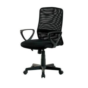オフィスチェア 事務椅子 デスクチェア キャスター付き椅子 キャスター 椅子 チェア ブラック 黒 肘付き椅子 肘置き 肘付 肘掛 おしゃれ 安い パソコンチェア|woooods