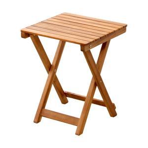 折りたたみ テーブル コーヒーテーブル カフェ系 テラス ガーデン 庭 ベランダ バルコニー アウトドア ( ガーデン家具 ガーデンテーブル 机 )|woooods