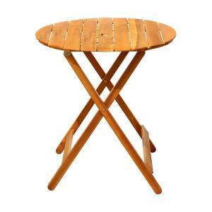屋外 ラウンドテーブル70 テーブル カフェ系 テラス ガーデン 庭 ベランダ バルコニー アウトドア ( ガーデン家具 ガーデンテーブル 机 )|woooods