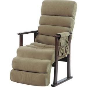 ソファー 一人掛け リクライニングチェア グリーン 緑 ( 椅子 チェア イス いす パソコンチェア オフィスチェア ハイバック ダイニングチェア )|woooods