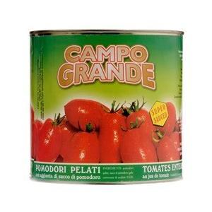 カンポグランデ ポモドーリ・ペラーティ(ホールトマト) 2.5kg|work-italia