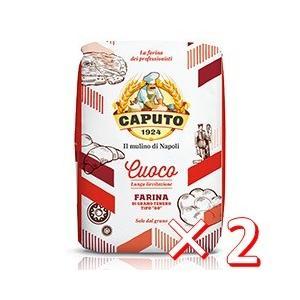 【ケース購入】CAPUTO(カプート) サッコ・ロッソ クオーコ<タイプ00> 小麦粉 5kg×2 work-italia