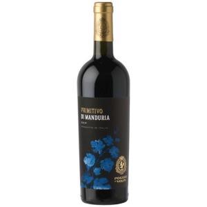 プリミティーヴォ・ディ・マンドゥーリア/ポッジョ・レ・ヴォルピ 750ml (赤ワイン)|work-italia