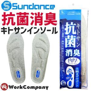 2枚までネコポス可 インソール サンダンス(sundance) キトサン抗菌消臭インソール 中敷き KS-306 メンズ 24.0cm〜28.0cmまで|workcompany