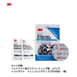 [メール便]3M 39173 ヘッドライト用クリアコーティング剤 1セット[取寄]