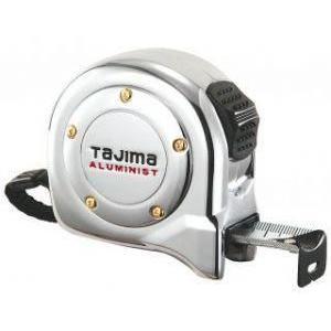 TAJIMA アルミニストロック25 5.5m 尺相当目盛付 【タジマ】ALL25-55SCRC [コンベックス]テープ幅25mmロックタイプ スチールテープ workingpro
