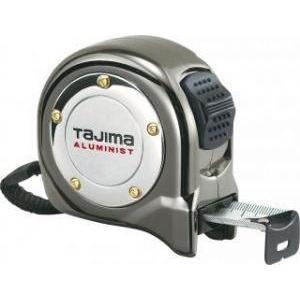 TAJIMA アルミニストロック25 5.5m 尺相当目盛付 【タジマ】ALL25-55SGAC [コンベックス]テープ幅25mmロックタイプ スチールテープ workingpro
