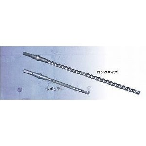 デルタゴンビット六角軸(ロングサイズ)DLHEX19050 【ミヤナガ】刃先径19.0mm 全長505mm 有効長385mm<3枚刃>|workingpro