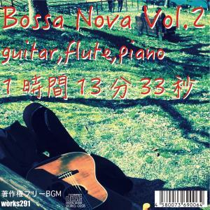 【店舗様向け 著作権フリーBGM】ボサノバ Vol.2 1時間13分33秒 癒しの音楽、ヒーリングミュージック 【送料無料】