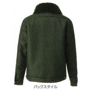 寅壱 3995-124 防寒市松柄ジャケット (3L〜4L)|workshop-kondo|03