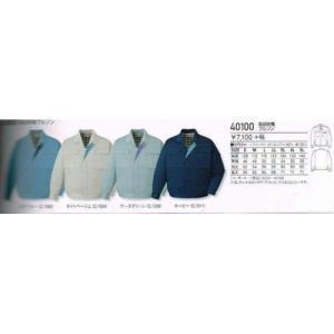 作業服【自重堂】40100シリーズ 製品制電ブルゾンS〜5L|workshop-tamai