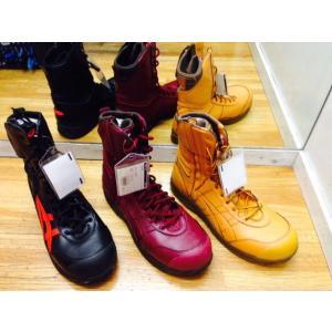 アシックス asics 安全靴  限定色 FIS500 ウィンジョブ  革製 踏み抜き防止 鉄板入り|workshop-tamai