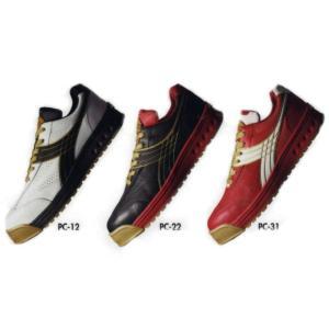 安全靴 【ディアドラ】 PEACOCK(PC)シリーズ ひもタイプ|workshop-tamai