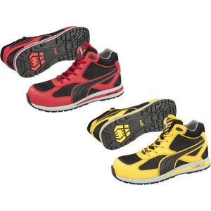 安全靴【PUMA】Fulltwistミッドカット・ひもタイプ|workshop-tamai