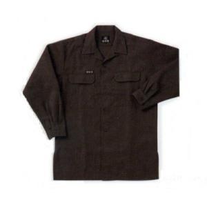 鳶服 【関東鳶】7440シリーズ オープンシャツ 3L (ポリエステル 65% レーヨン 35%)|workshop-tamai