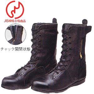 安全靴/作業靴/ドンケル/DONKEL/長編上靴/高所用/構内用/作業服 甲被:牛クロム革(do-出初めチャック付)|workshopgorilla