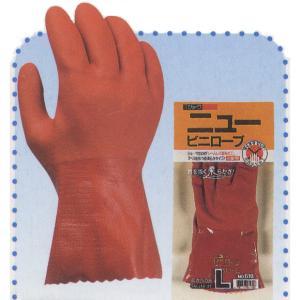 hi-610 ニュービニローブ(表/塩化ビニール) 裏綿100% 作業用手袋 作業手袋 抗菌防臭|workshopgorilla