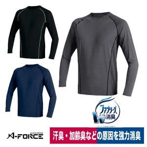 ファブリーズ 消臭ボディフィットシャツ インナー 強力消臭 加齢臭 汗 速乾 UV アルト AF901|workway