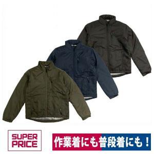 ジャケット 防寒 裏アルミ中綿ジャケット SUPER PRICE WW-007|workway