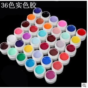 カラージェル ジェルネイル 36色 5g ソークオフカラージェル ネイル ネイルチップ UVレジン セルフネイル world-class