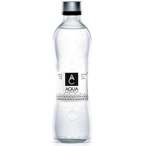 送料無料 AQUA CARPATICA アクア カルパチカ 天然炭酸水 750ml×6本 天然水 中硬水 ルーマニア産 スパークリング ガス入りミネラルウォーター  ガラスボトル ア world-depo