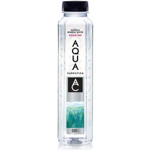 送料無料 AQUA CARPATICA アクア カルパチカ ナチュラルミネラルウォーター 500ml×12本 天然水 中硬水 ルーマニア産 ペットボトル アクア カルパティカ|world-depo