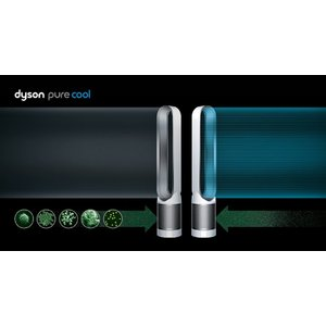 送料無料 Dyson タワーファン(リモコン付 アイアン/サテンブルー)dyson Pure Cool(ピュアクール) AM11IB ダイソン 扇風機 羽のない扇風機 デザイン家電 デザ|world-depo|04
