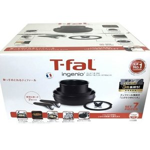 送料無料 T-fal ingenio インジニオ・ネオ IHウォールナット・エクセレンス ティファール 取っ手のとれる IH対応 7点セット 鍋 フライパン ウォックパン ソー|world-depo
