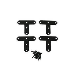 ハイロジック カラーT字金具 40mm QY057 黒 [Tools & Hardware] 000...