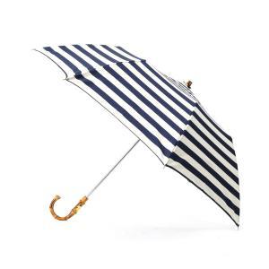 DRESSTERIOR(Ladies)(ドレステリア(レディース))TRADITIONAL WEATHERWEAR マリンボーダー折り畳み傘|world-direct