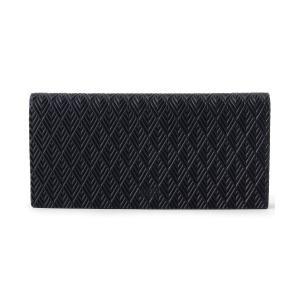 TAKEO KIKUCHI(タケオキクチ)型押し長財布[ メンズ 財布 ウォレット 革 黒 紺 ギフト ]|world-direct
