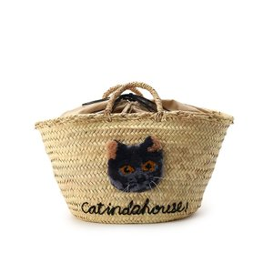 aquagirl(アクアガール)【WEB限定】CAT IN DA HOUSE! キャットフェイスかごバッグ|world-direct