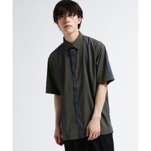 tk.TAKEO KIKUCHI(ティーケー タケオ キクチ)ストライプサテンシャツ|world-direct