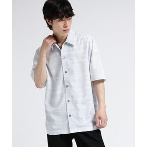 tk.TAKEO KIKUCHI(ティーケー タケオ キクチ)水彩画アート オーバーシャツ|world-direct