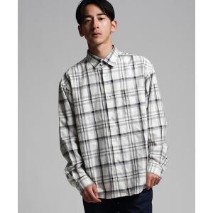 tk.TAKEO KIKUCHI(ティーケー タケオ キクチ)TCオーバーサイズチェックシャツ world-direct