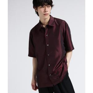 tk.TAKEO KIKUCHI(ティーケー タケオ キクチ)玉虫オーバーシャツ|world-direct