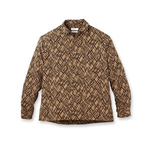 tk.TAKEO KIKUCHI(ティーケー タケオ キクチ)ランダムダイヤプリントシャツ world-direct